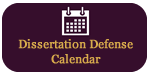 Dissertation Defense Calendar